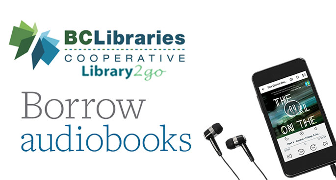 Borrow audiobooks from Overdrive