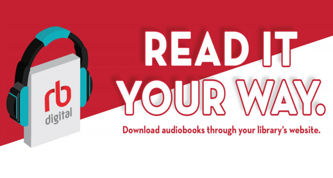 Download audiobook from RBDigital