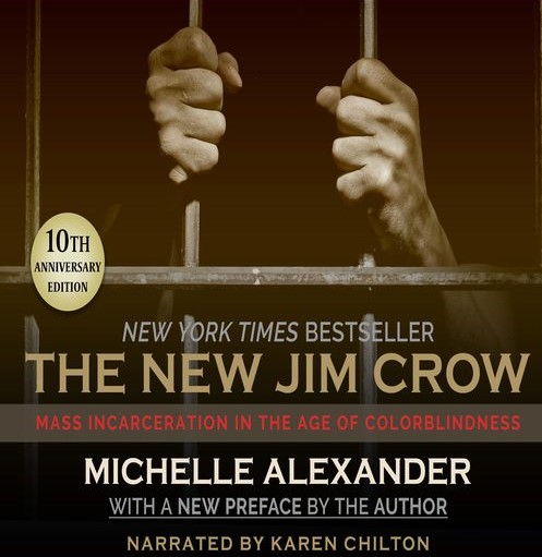 Book cover of The New Jim Crow