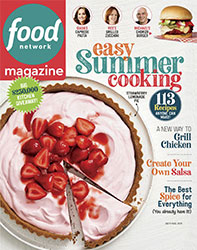 Food Network Magazine Cover