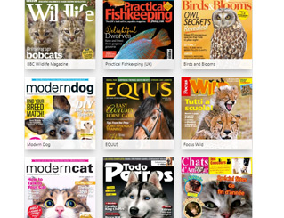 Selection of Animals and Pets magazines