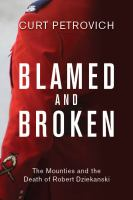 book cover of Blamed and Broken