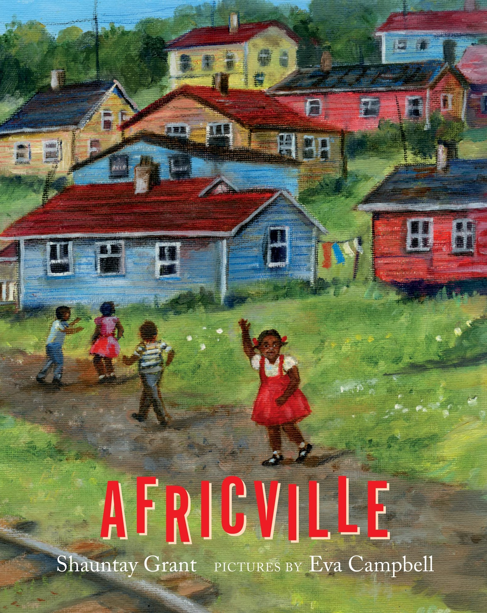 Book cover for Africville