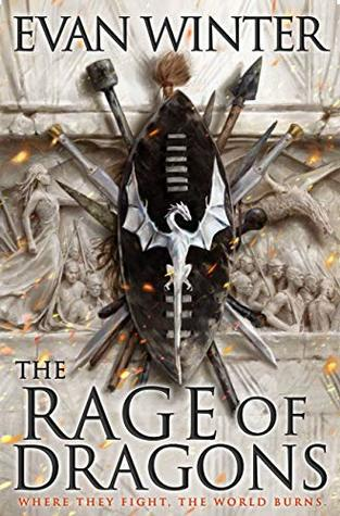 Book cover of The Rage of Dragons