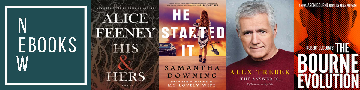 Book covers of new books for the week of July 28, 2020