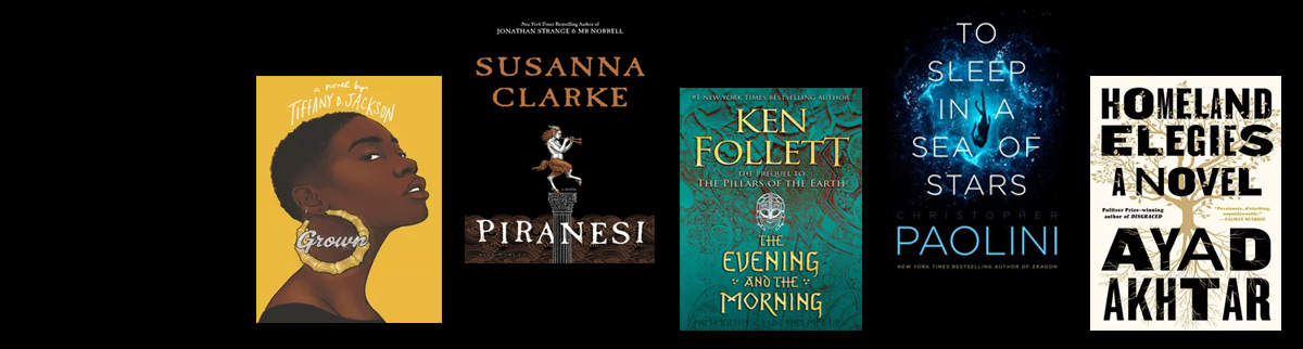 Book covers of new books for the week of Sep 14, 2020