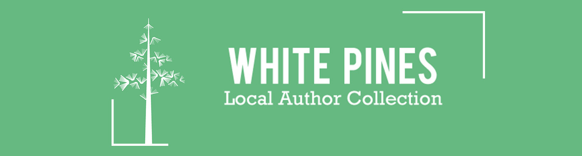 White Pines Local Author Collection Logo