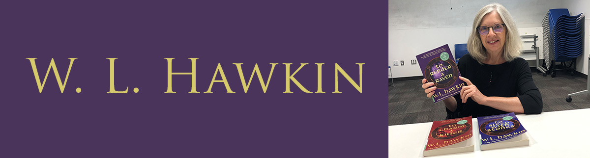 Author W.L. Hawkin and her books