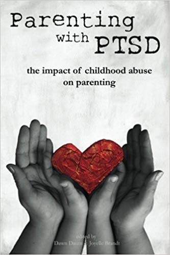 Book cover of Parenting with PTSD