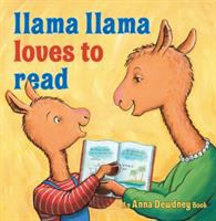 Book cover for Llama Llama Loves to Read