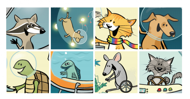 Kids' Summer Reading Club 2020 Stickers