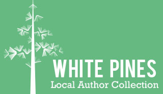 Logo for White Pines Local Author Collection