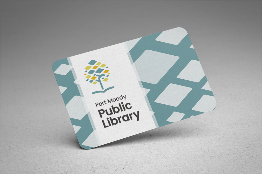 Port Moody Public Library card